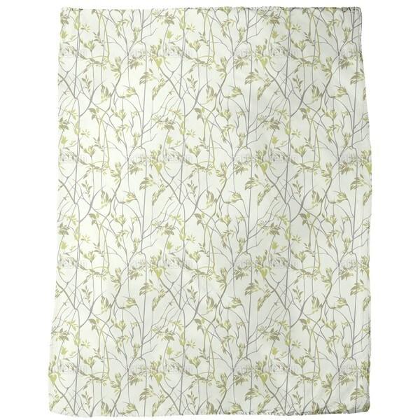 Liana Forest Fleece Blanket