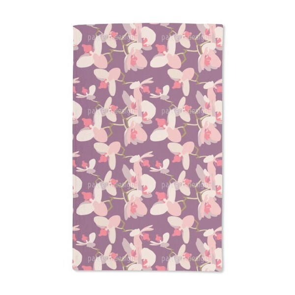 Orchids Hand Towel (Set of 2)