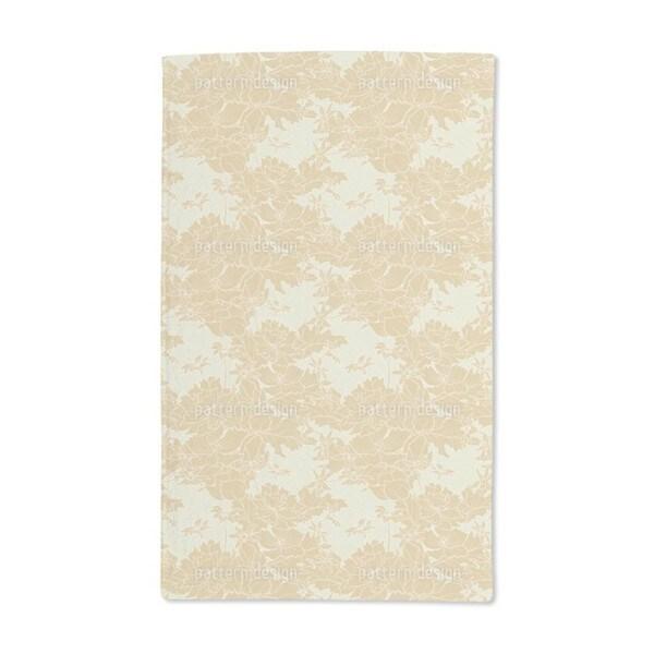Golden Times Hand Towel (Set of 2)