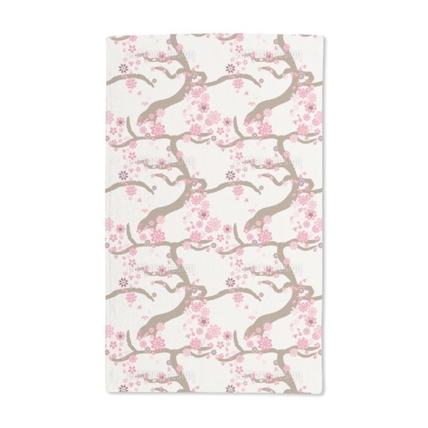 Sakura Hand Towel (Set of 2)