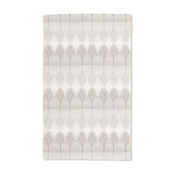 Alley Brown Hand Towel (Set of 2)