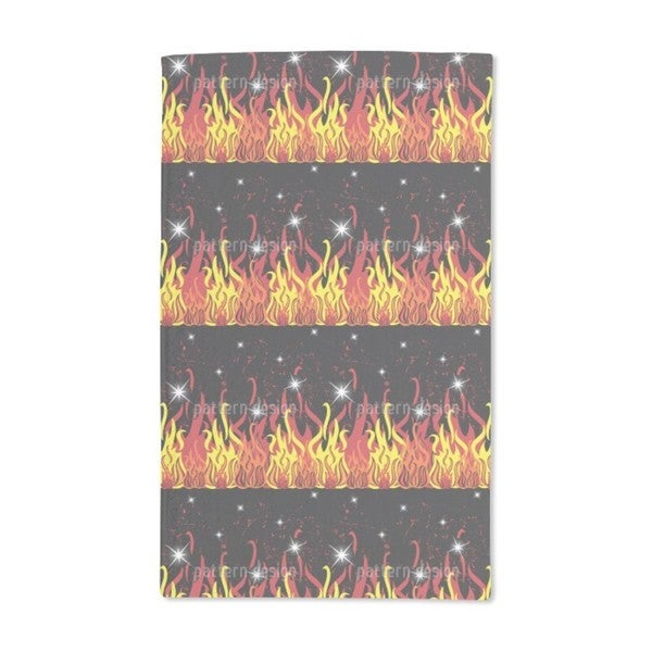 On Fire Hand Towel (Set of 2)