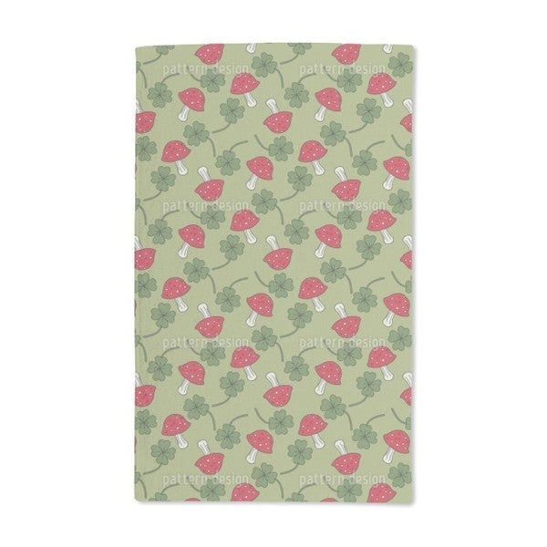 Lucky Charms in Green Hand Towel (Set of 2)