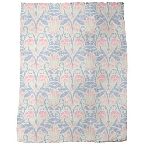Damasko Linen Fleece Blanket