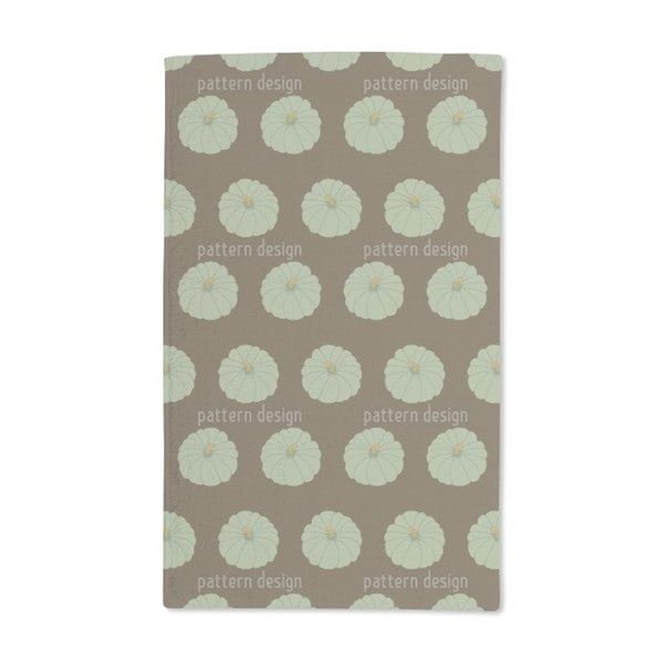 Decorative Gourd Brown Hand Towel (Set of 2)