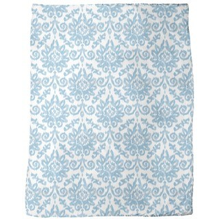 Ikat Damask Fleece Blanket
