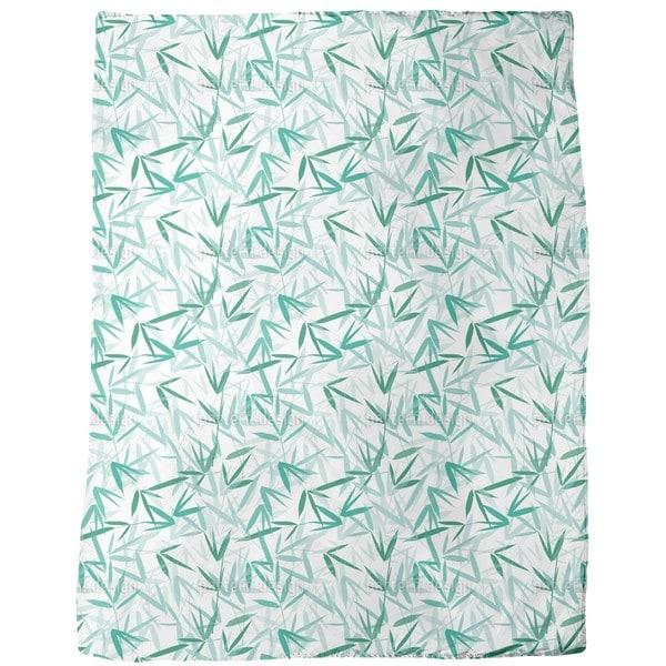 Bamboori Mint Fleece Blanket