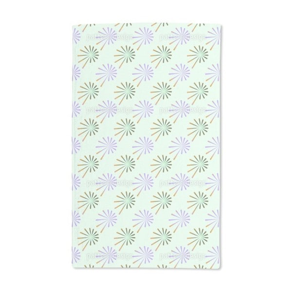 Fantasy of Chives Hand Towel (Set of 2)