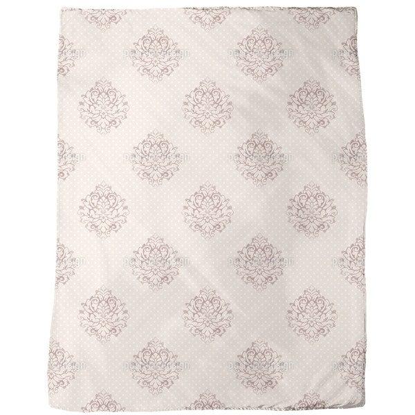 Mademoiselle Pompadour Fleece Blanket