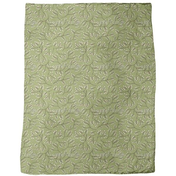 Branches in Spring Fleece Blanket