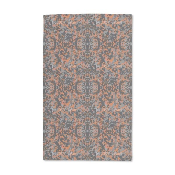 In and Out Rusty Hand Towel (Set of 2)