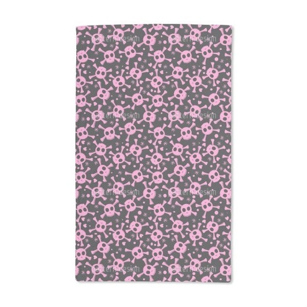 Pirate Lily Is in Love Hand Towel (Set of 2)