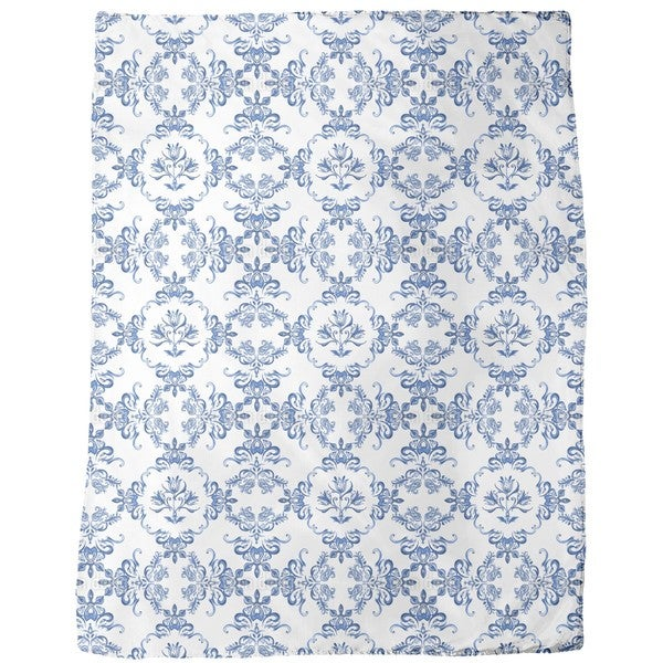 Tulip Delftware Fleece Blanket