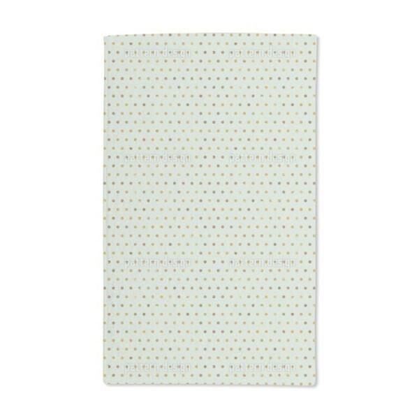 Polka Dots Pale Blue Hand Towel (Set of 2)