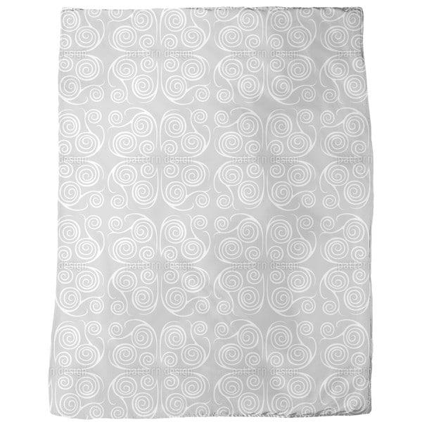 Jorinde Spirals Fleece Blanket