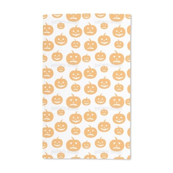 Halloween Pumpkins Hand Towel (Set of 2)