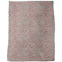 Nordic Floral Fleece Blanket
