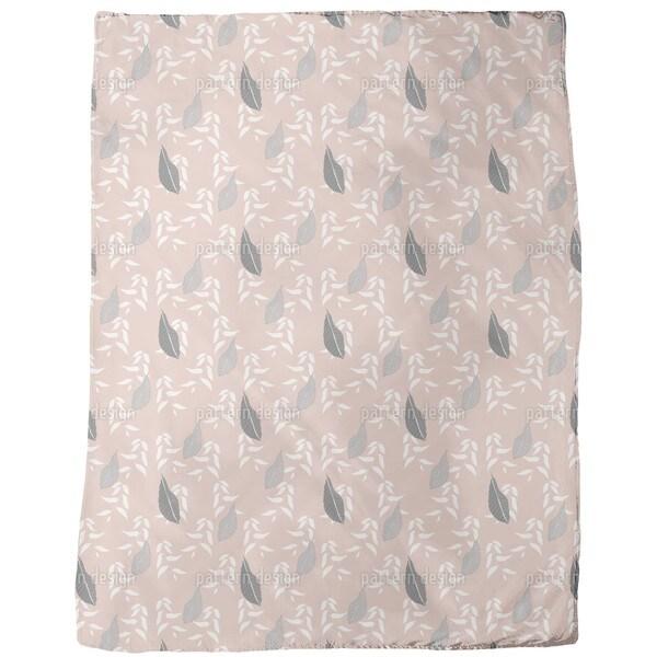 Leaves From Johannesburg Fleece Blanket