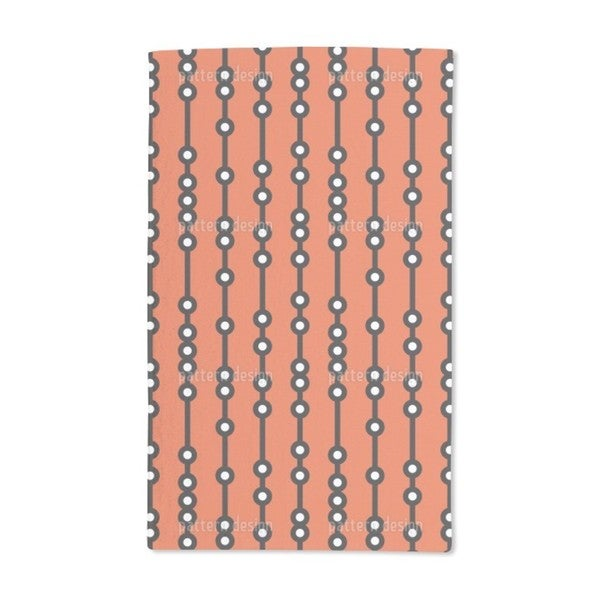 Abacus Hand Towel (Set of 2)