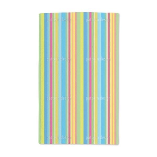 Fresh Stripes Hand Towel (Set of 2)