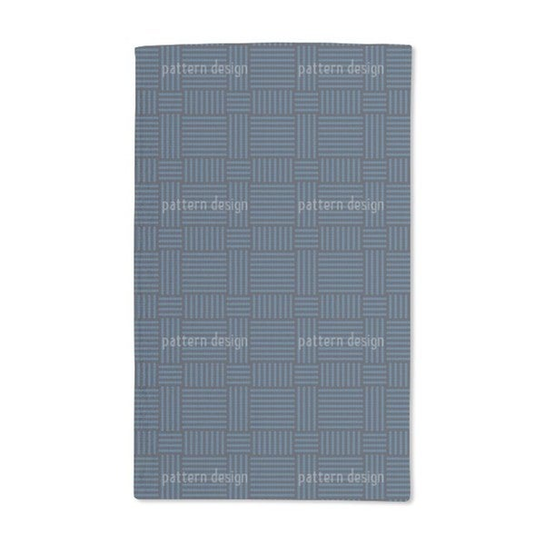 Woven Structure Hand Towel (Set of 2)