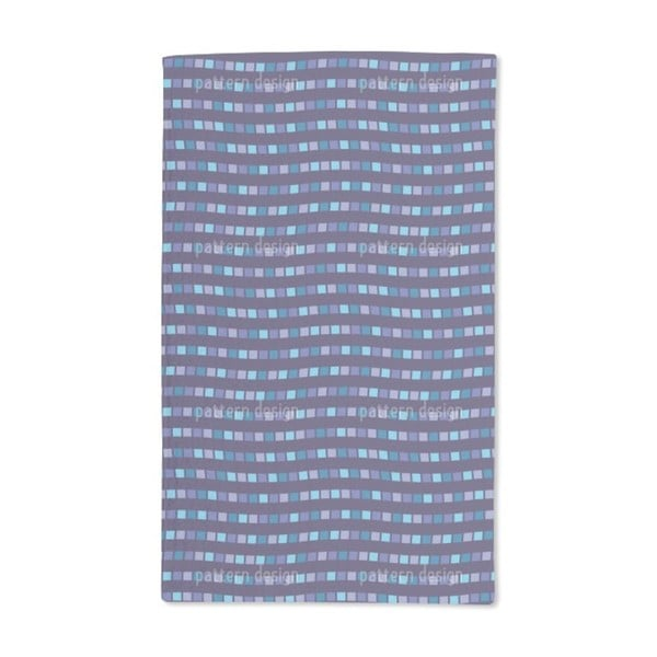 City Whisper in Blue Hand Towel (Set of 2)