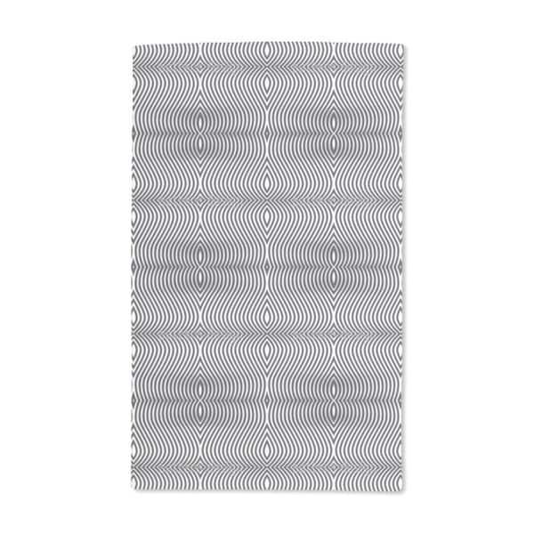 Op Art Zebra Hand Towel (Set of 2)