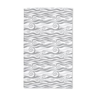 Triton Grey Hand Towel (Set of 2)