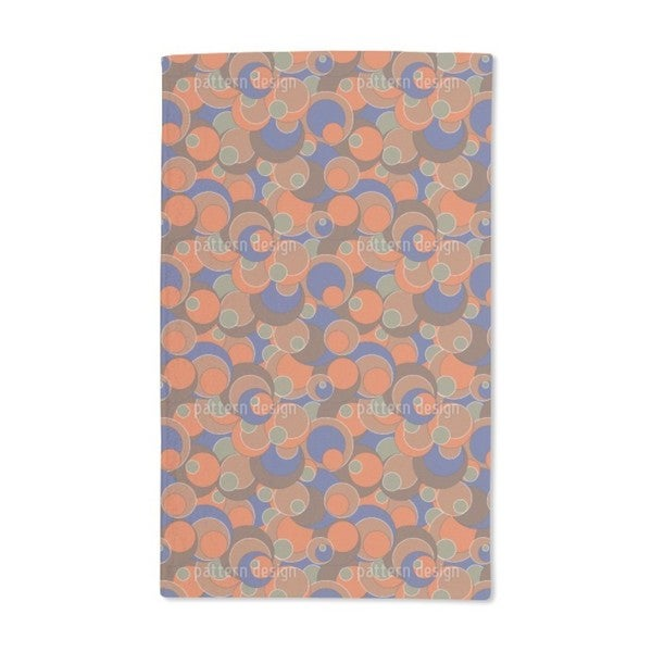 Retro Blubb Hand Towel (Set of 2)