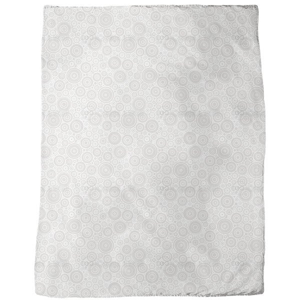 Secession Grey Fleece Blanket