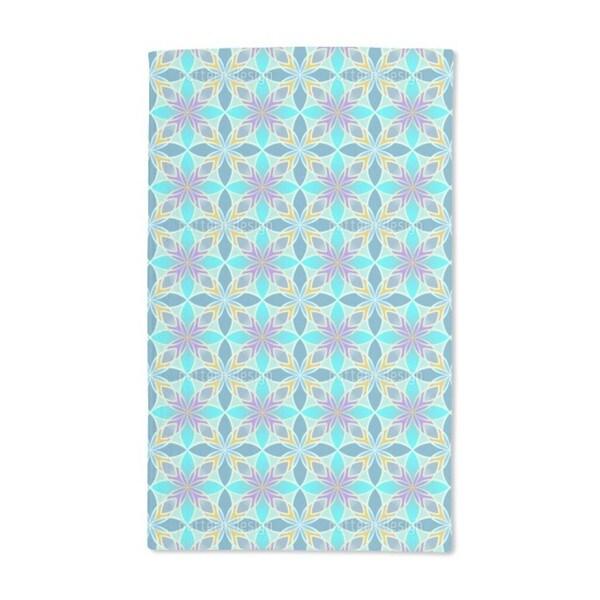 Curacao Blue Hand Towel (Set of 2)