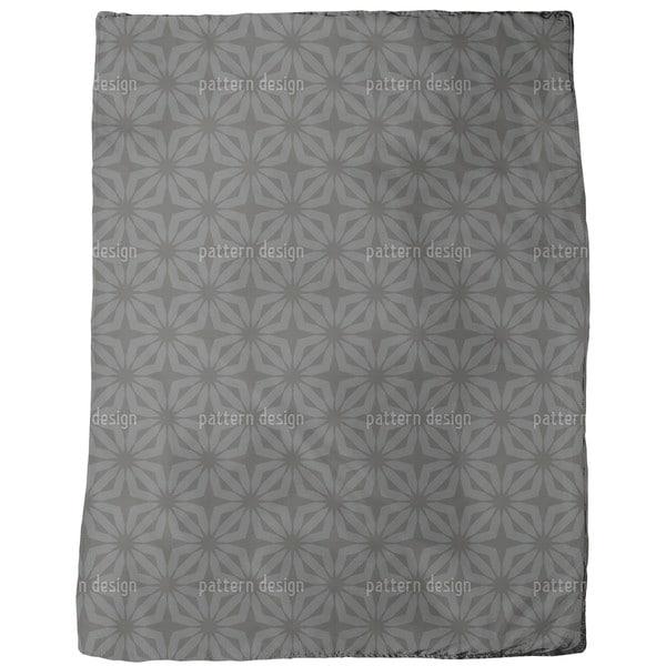 Stella Black Fleece Blanket