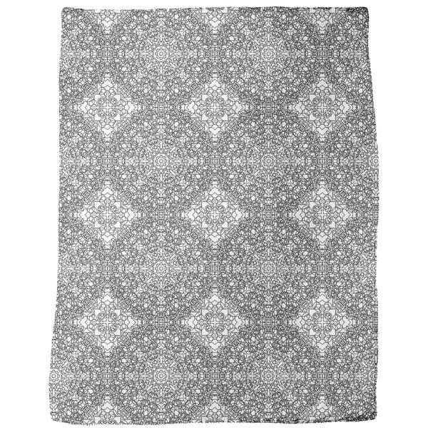 Rosetta Babylonia Fleece Blanket