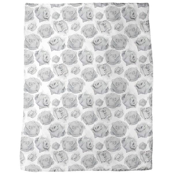 Rosa Graphia Fleece Blanket