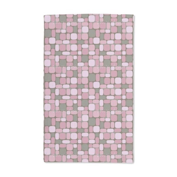 Geometric Retro Romance Hand Towel (Set of 2)