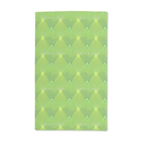 Little Green Lanterns Hand Towel (Set of 2)