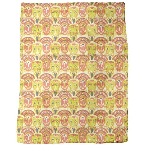 Popocatepetls Friends Fleece Blanket