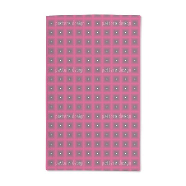Waffles in Pink Hand Towel (Set of 2)