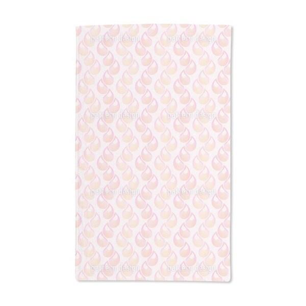 Pink Tears Hand Towel (Set of 2)