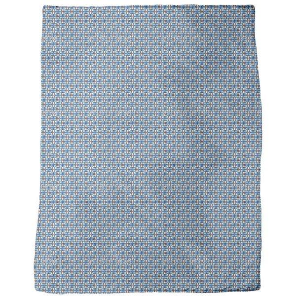 Bulcao Brasilia Fleece Blanket