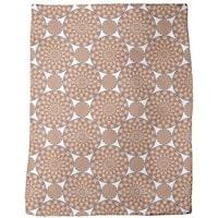 Mexican Mandala Fleece Blanket