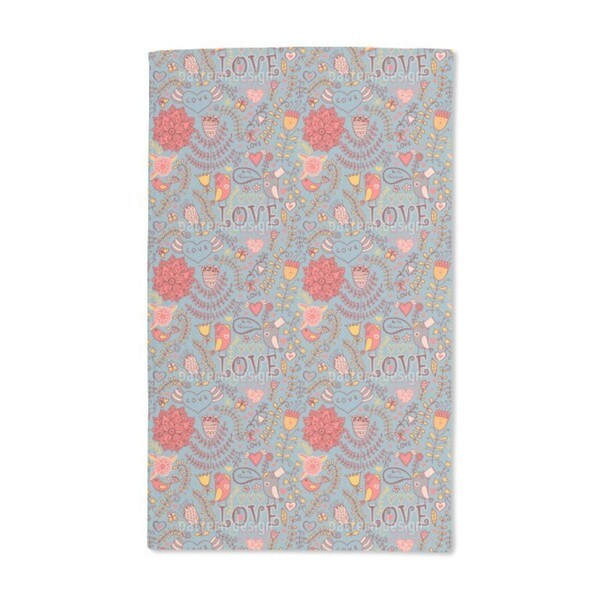 Be My Valentine Hand Towel (Set of 2)