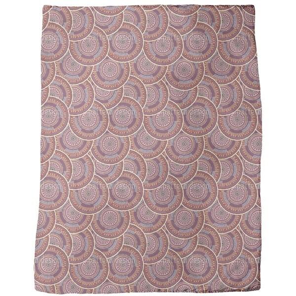 Ethno Mandalas Fleece Blanket