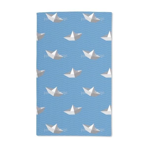 Paperboats Hand Towel (Set of 2)