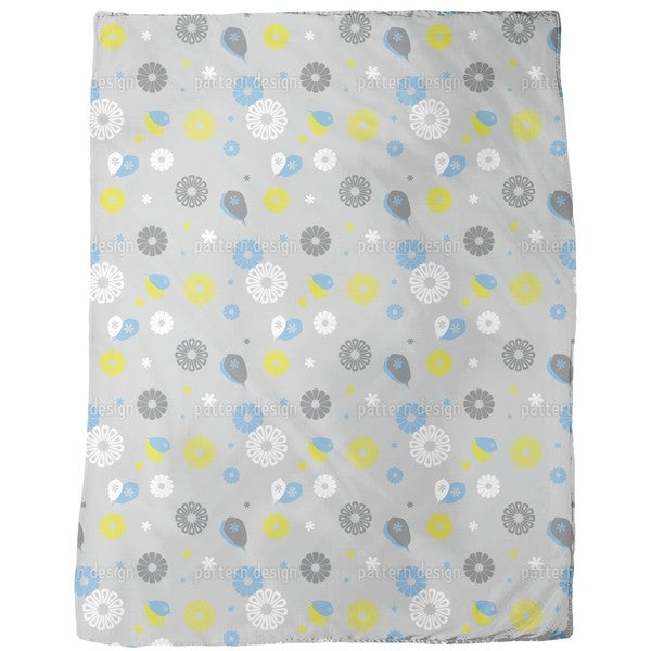 Flowerpower Stilisimo Fleece Blanket