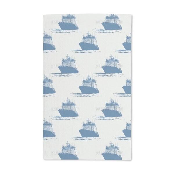 Cast Off Nautical Hand Towel (Set of 2)