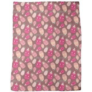 Babushka Rock Fleece Blanket