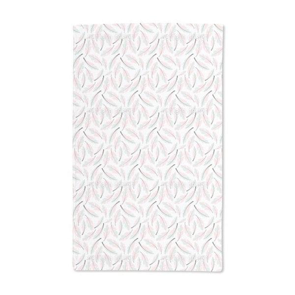 Bohemian Feathers Hand Towel (Set of 2)