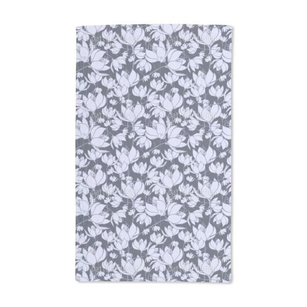 Crocus Night Hand Towel (Set of 2)