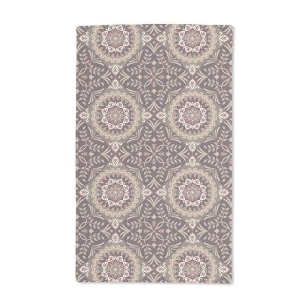 A Floral History Hand Towel (Set of 2)